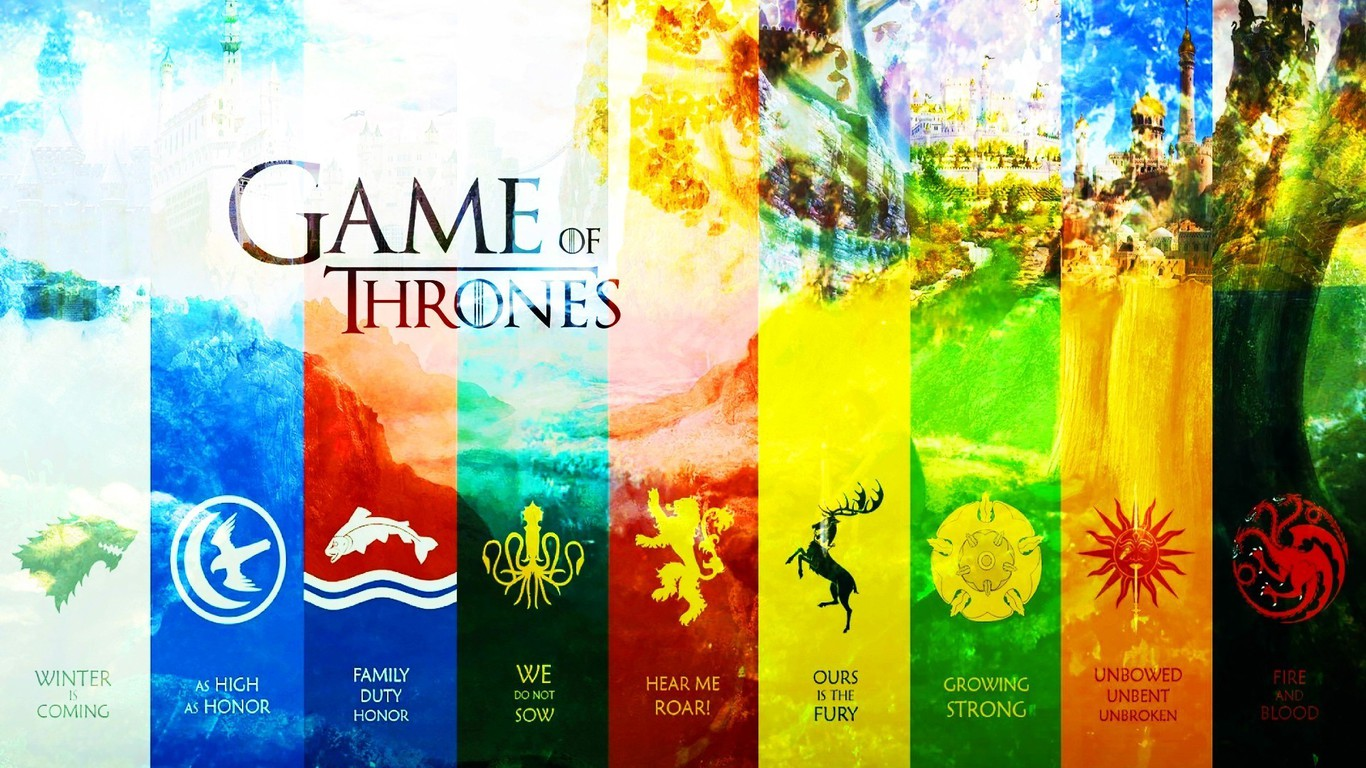 Wallpaper Resolutions - Game Of Thrones Season 6 Houses , HD Wallpaper & Backgrounds