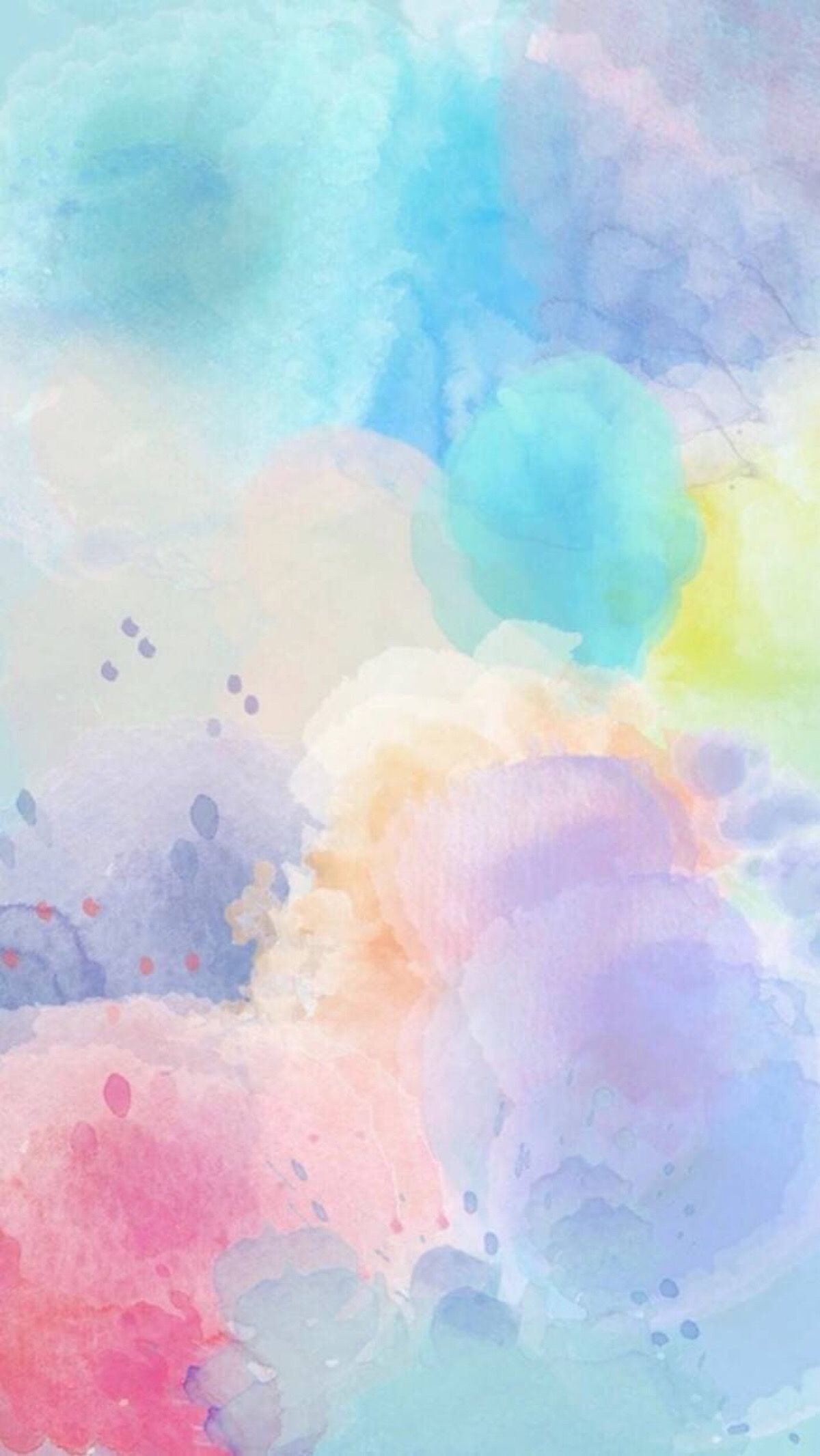 Download The Choice Of Your Free Watercolor Peach Wallpapers - Background For Whatsapp Status , HD Wallpaper & Backgrounds