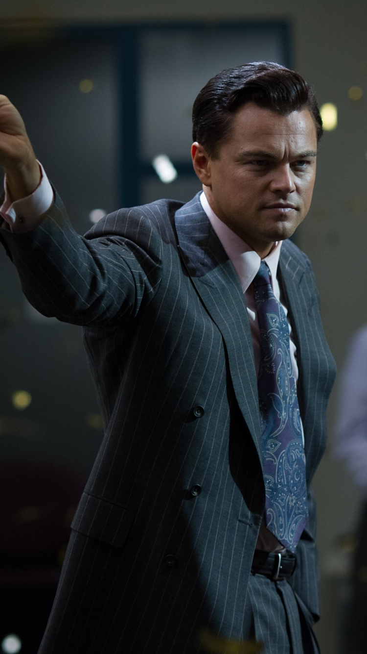 Movie / The Wolf Of Wall Street Mobile Wallpaper - Wolf Of Wall Street Mobile , HD Wallpaper & Backgrounds