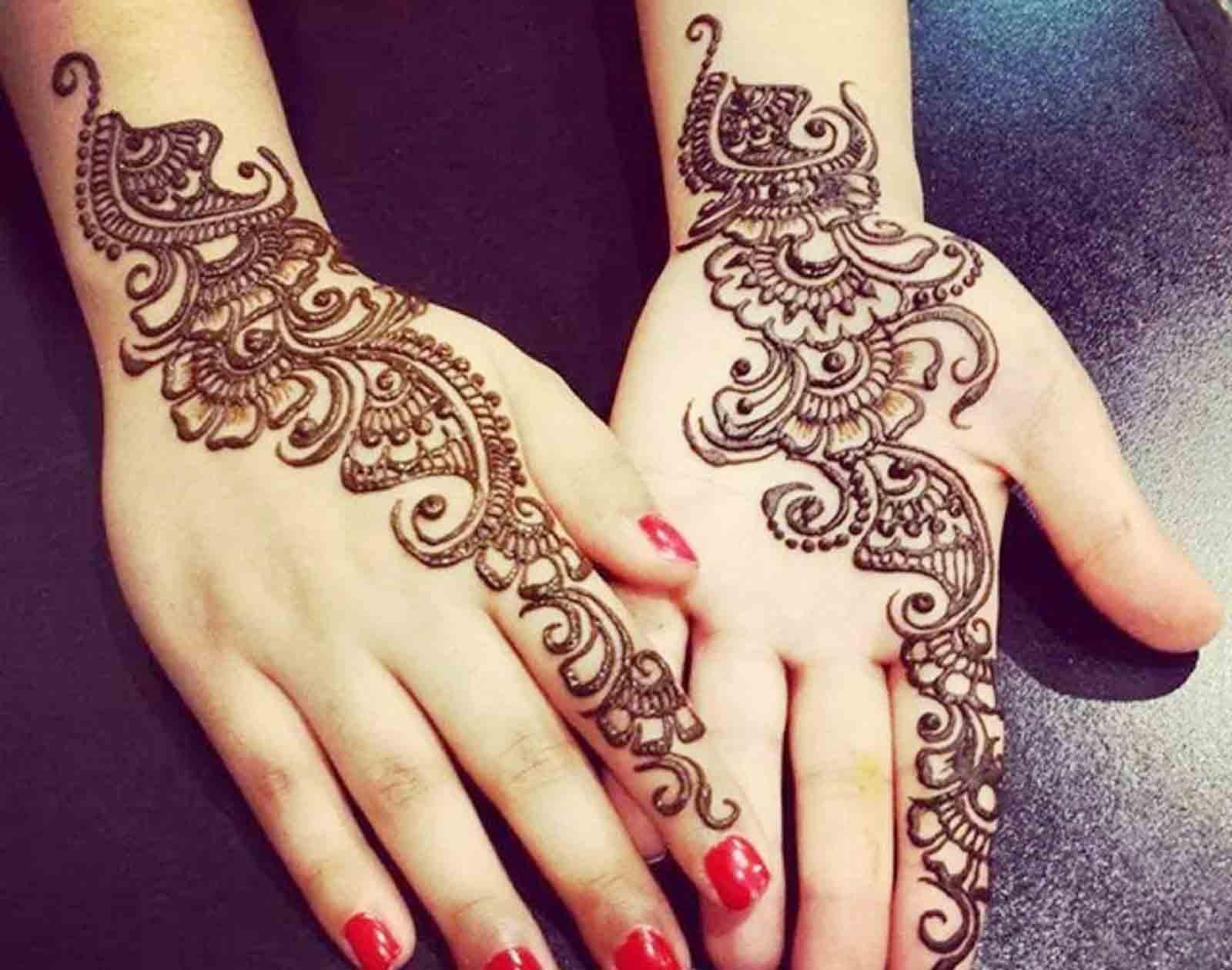 Mehndi Designs For Hands - Back Hand Mehndi Design , HD Wallpaper & Backgrounds