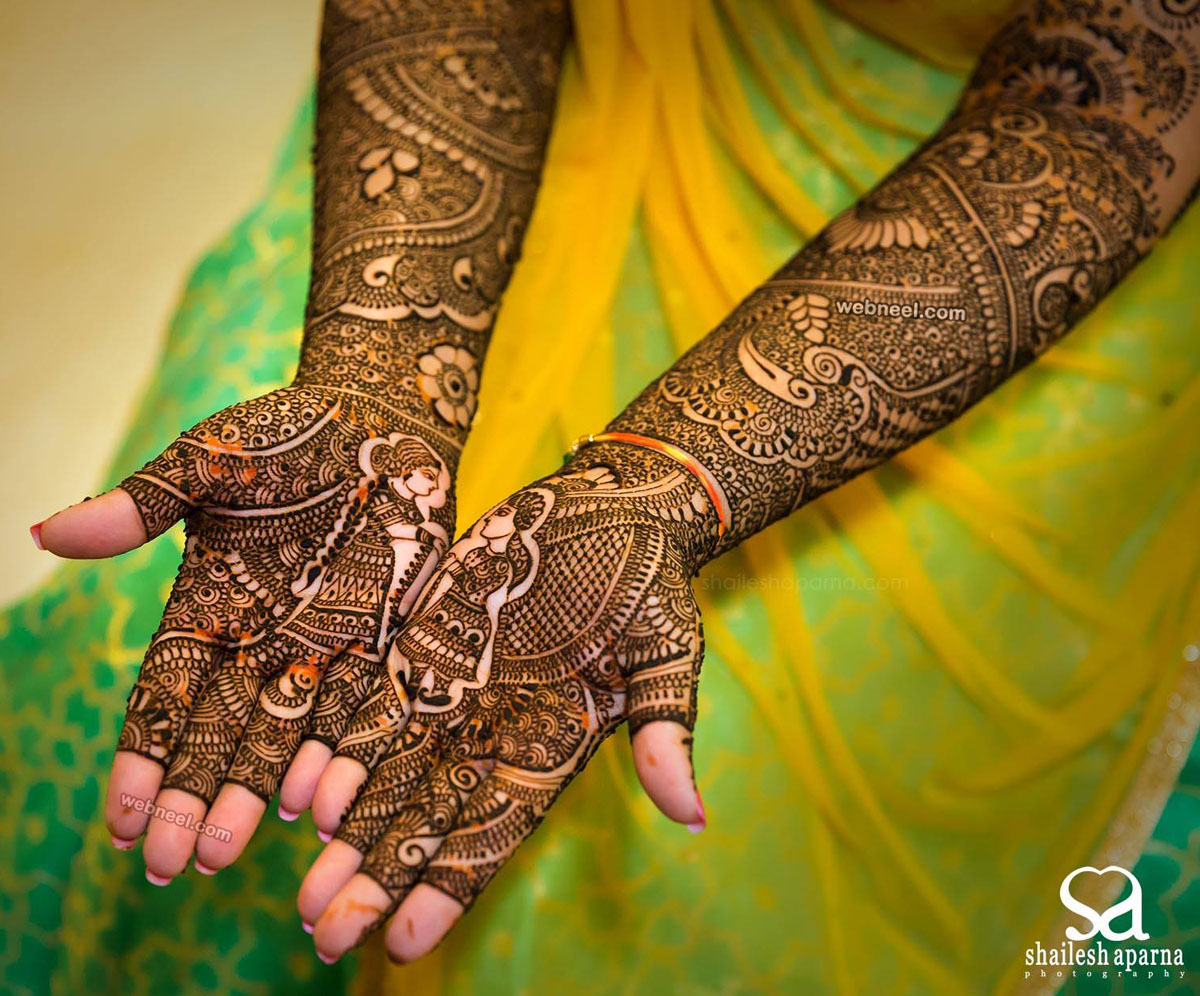 Mehndi Design Photo Mehndi Design Photo - Mehndi Design Close , HD Wallpaper & Backgrounds