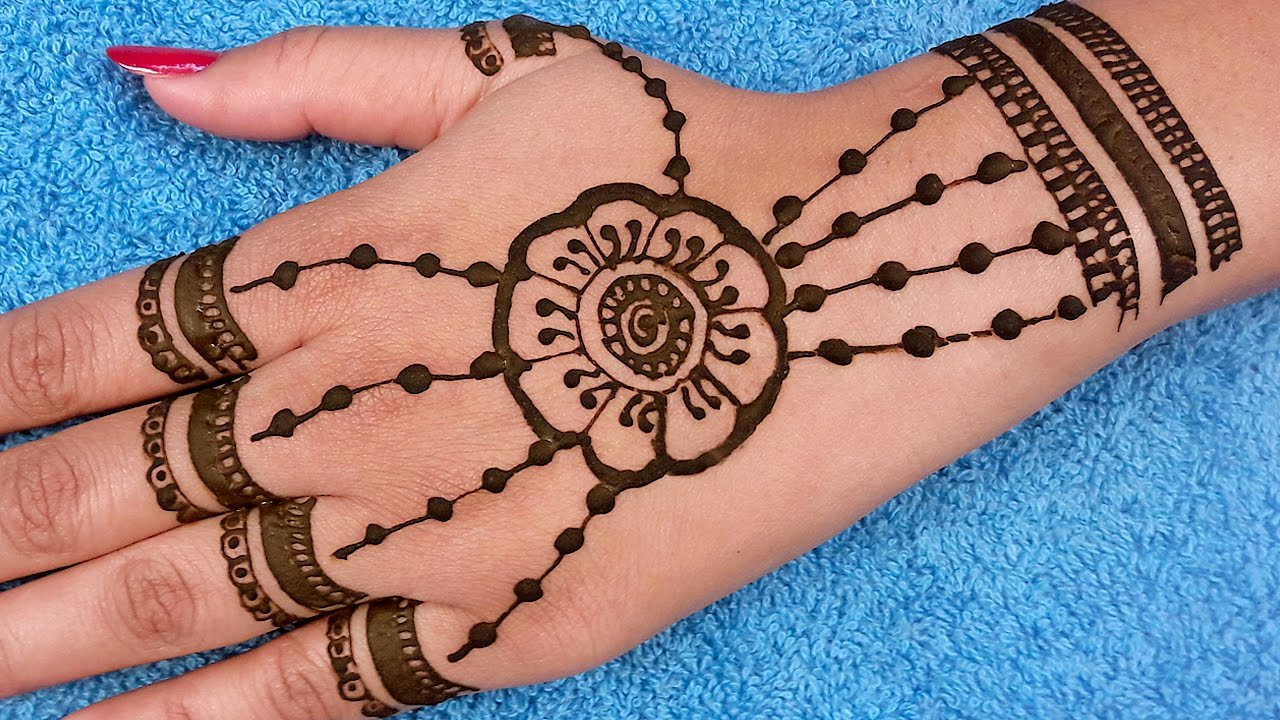 Eid Henna Design By Faiza Beauty Parlour , Mehndi Designs