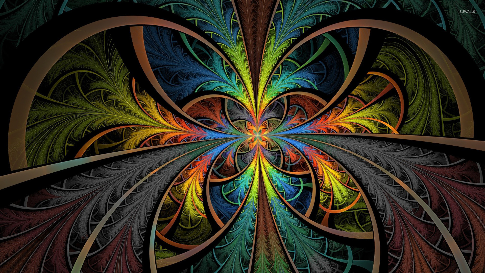 Abstract Trippy Brightness Lsd Psychedelic Hurt Colorful Mirrored Abstract 201257 Hd Wallpaper Backgrounds Download