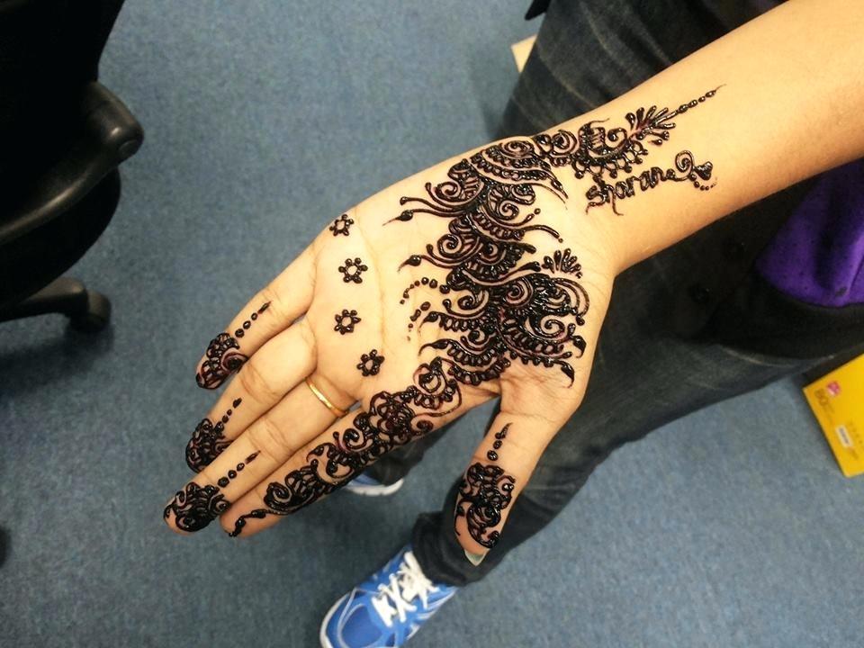 Design Wallpapers Best Henna Designs Free Wallpaper - Simple Arabic Mehandi Designs , HD Wallpaper & Backgrounds