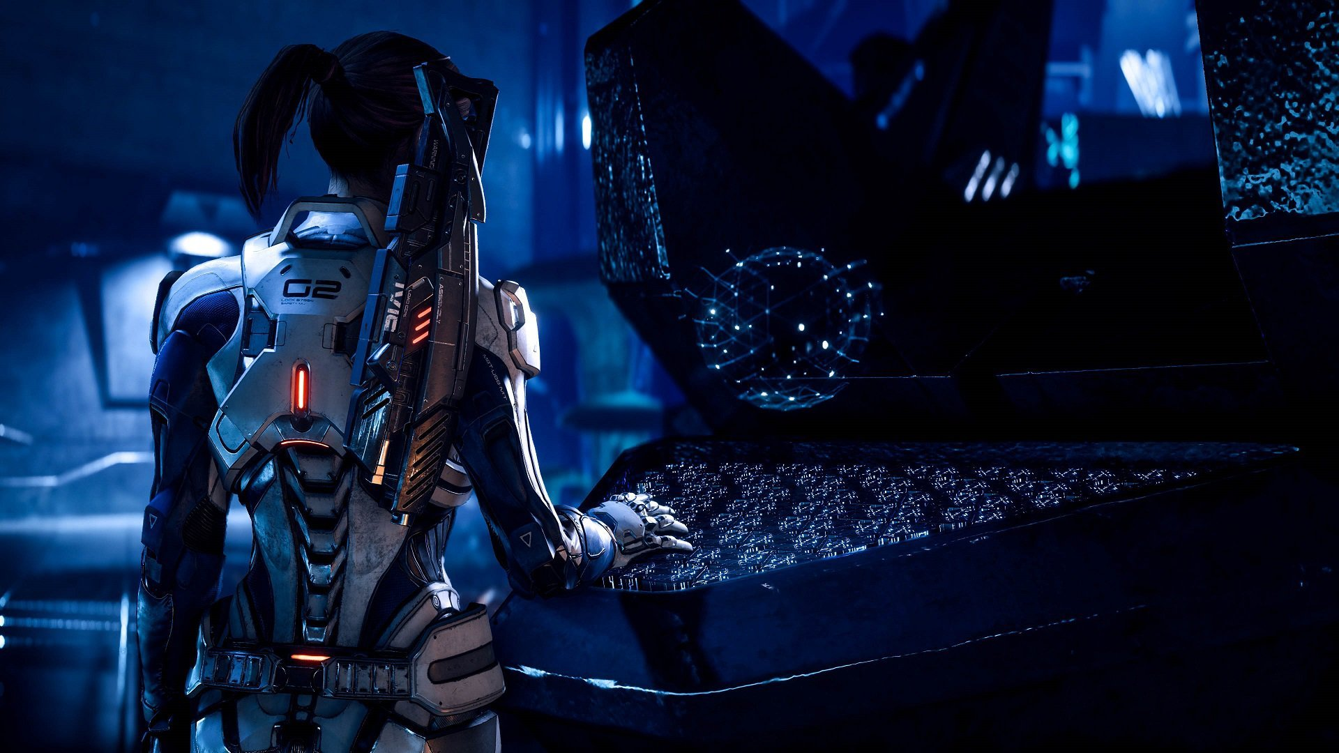 Download 1080p Mass Effect Mass Effect Andromeda Sara Ryder