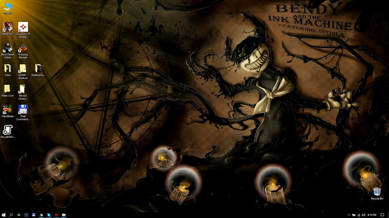 Bendy Hd Live Wallpaper Bendy And The Ink Machine 203316 Hd