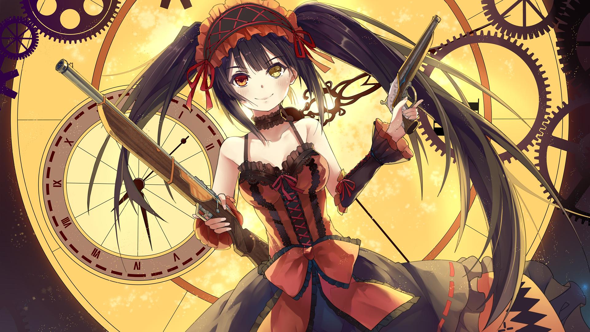 Anime Date A Live Kurumi Tokisaki Wallpaper Kurumi 203443 Hd Wallpaper Backgrounds Download