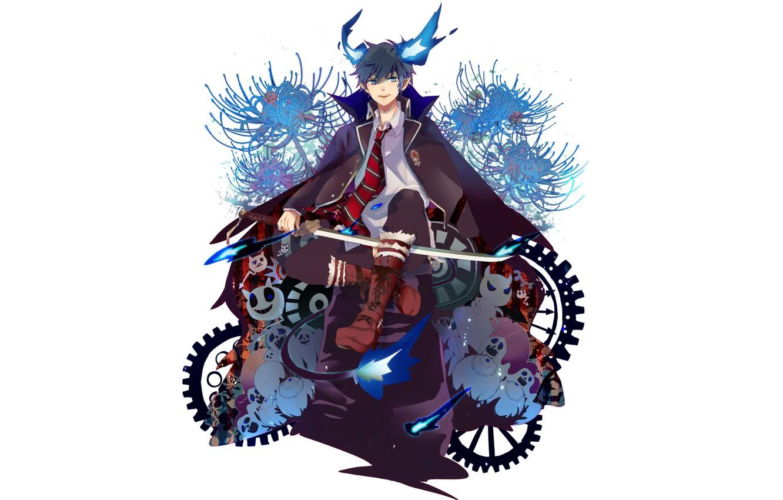 Photo Wallpaper Ao No Exorcist Rin Okumura Rin Blue Blue