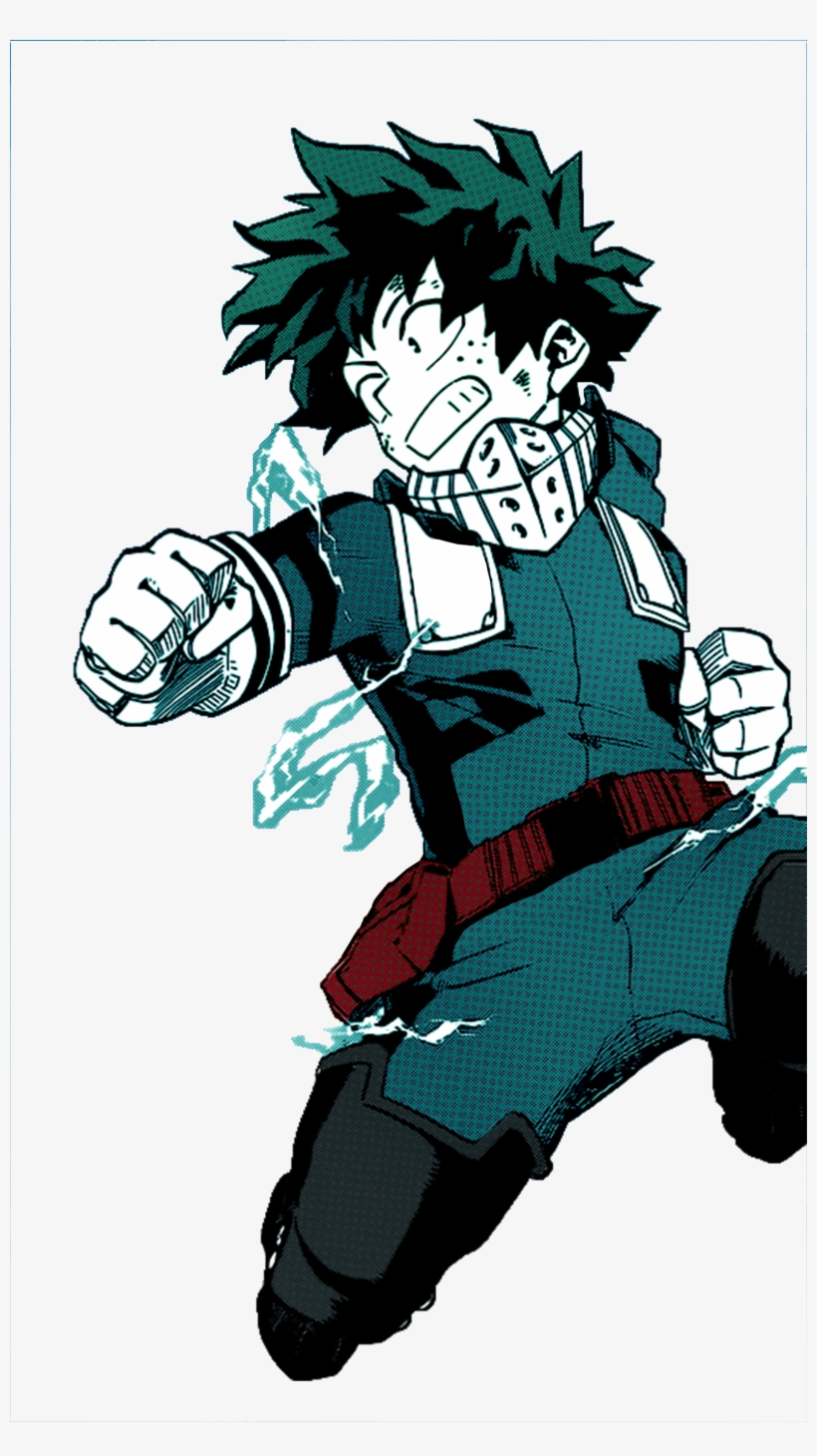 My Hero Academia Deku Wallpaper Black And White Izuku
