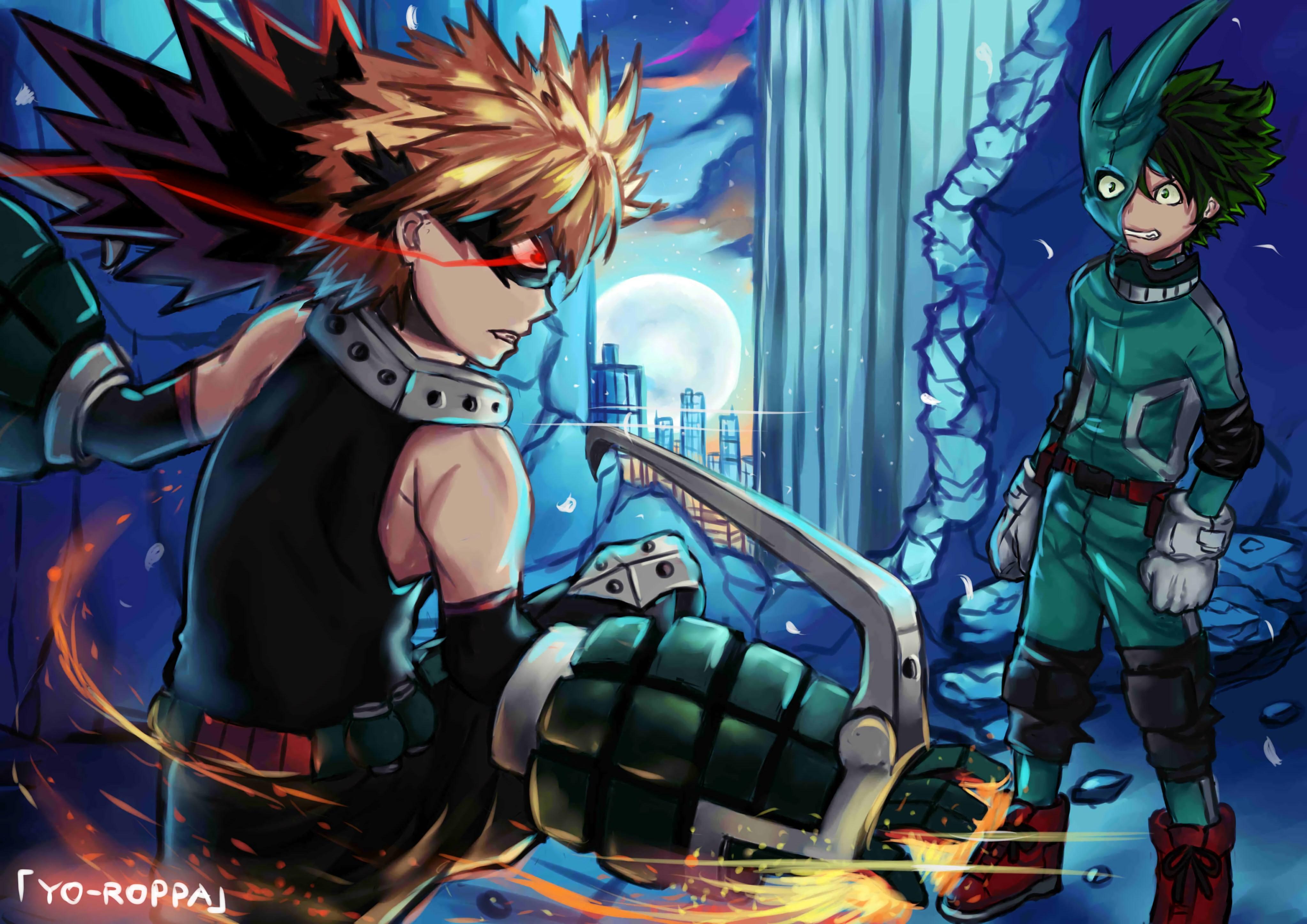 Boku No Hero Academia 4k Ultra Hd Wallpaper My Hero