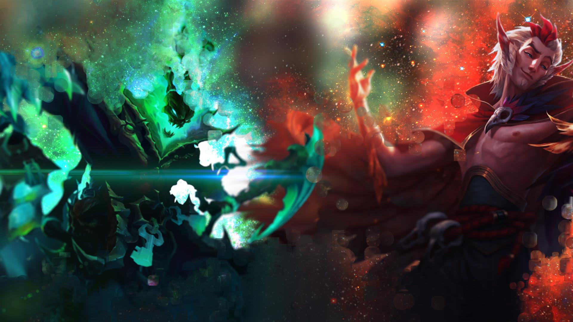 Thresh Rakan Wallpaper Thresh Rakan 204985 Hd Wallpaper