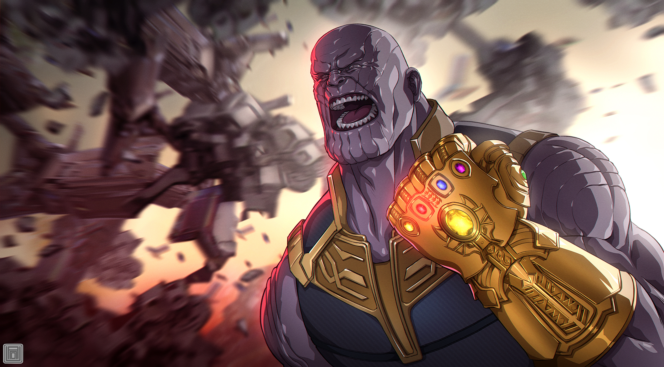 Thanos Marvel 205154 Hd Wallpaper Backgrounds Download