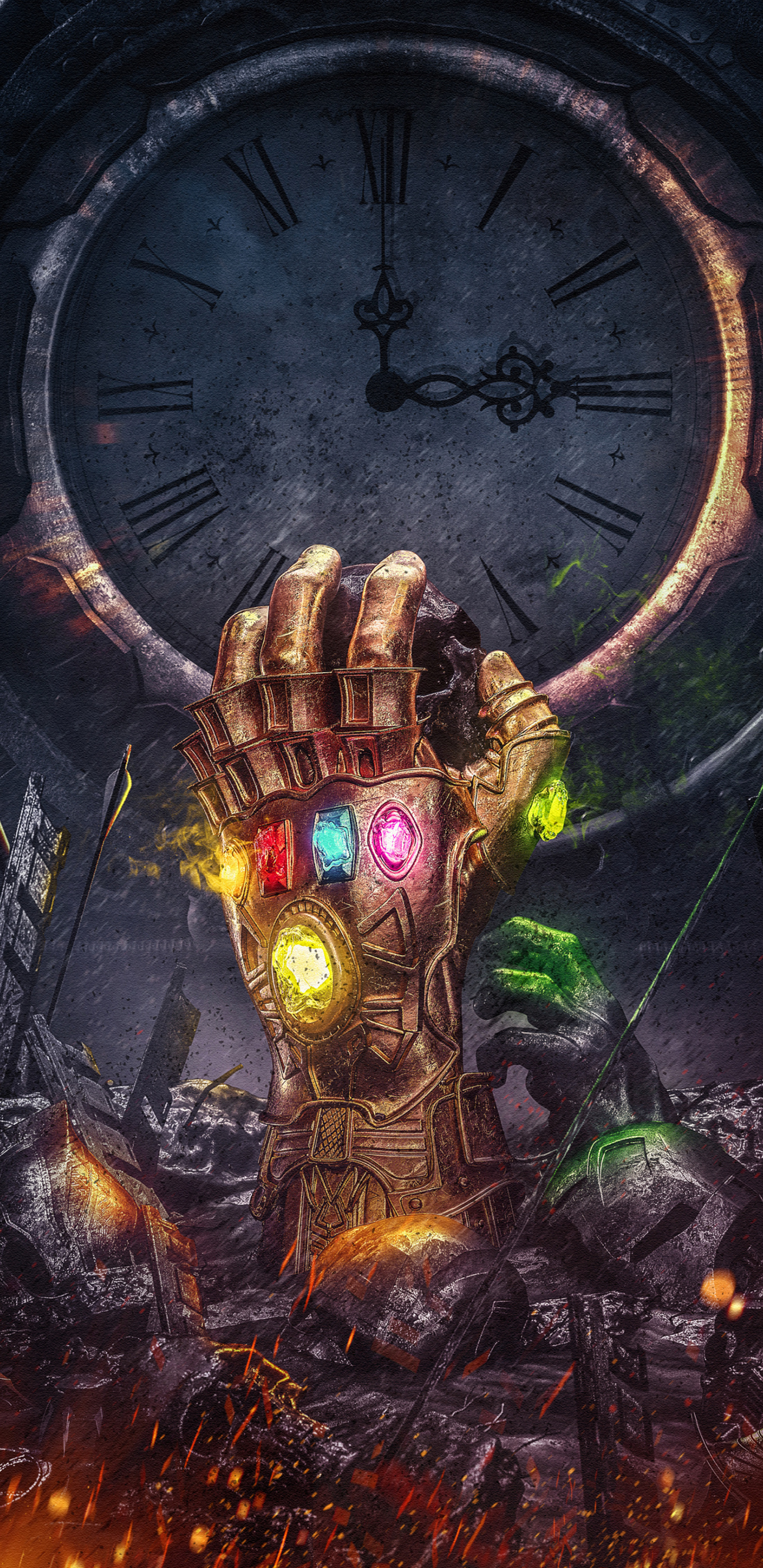 Infinity Gauntlet Thanos Infinity Stones Fantasy