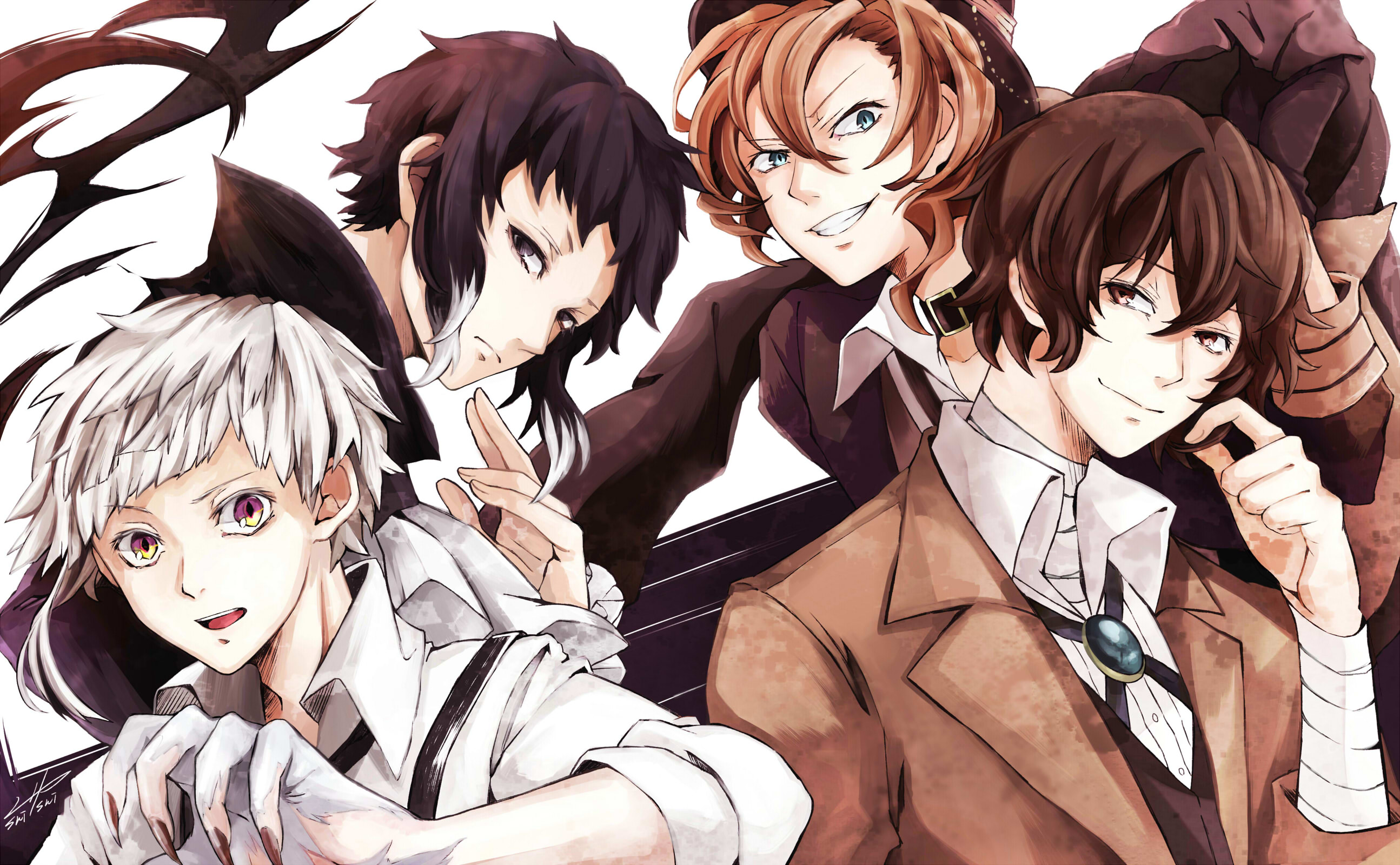 View Fullsize Bungou Stray Dogs Image Bungou Stray Dogs Wallpaper 4k 205429 Hd Wallpaper Backgrounds Download