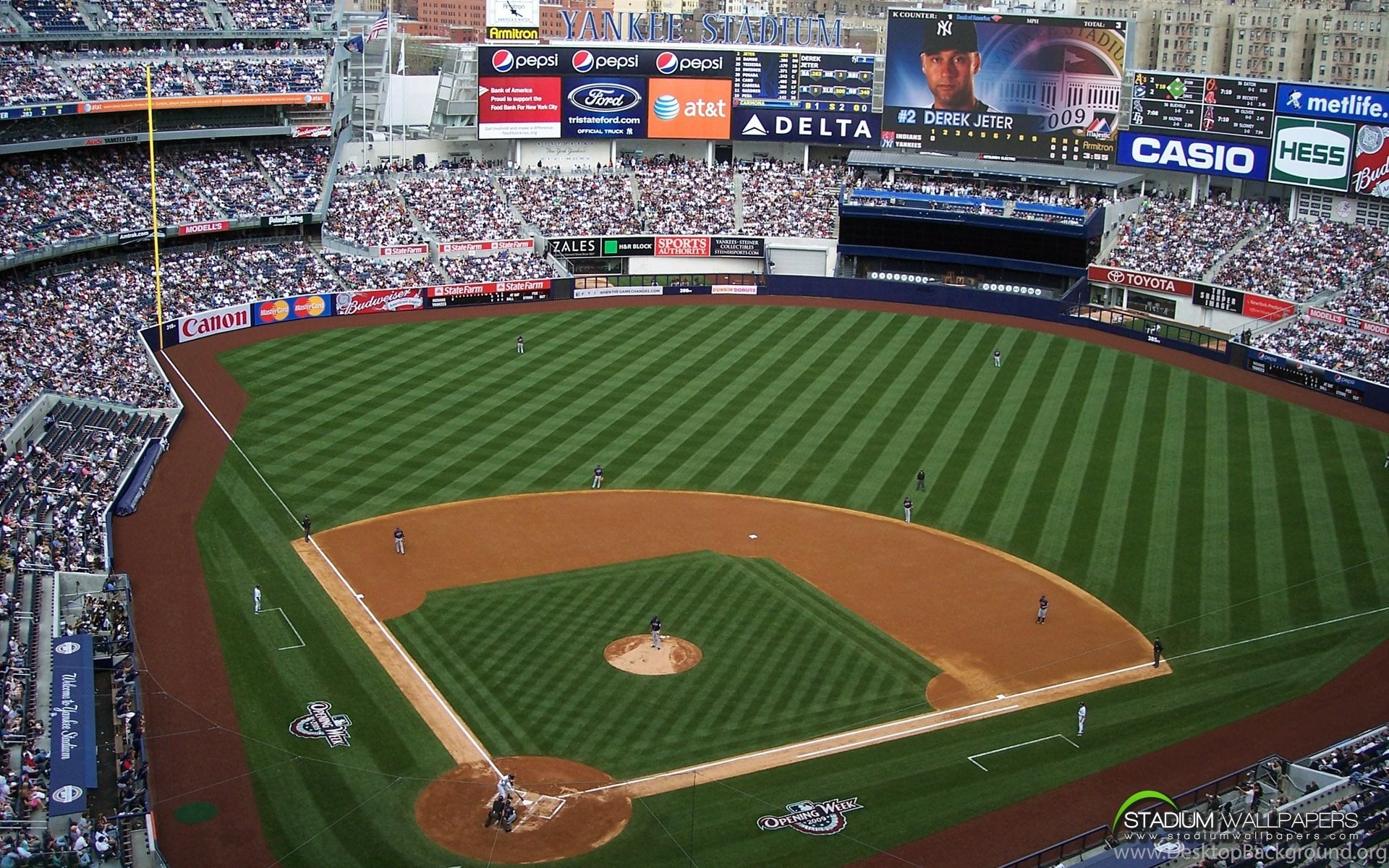 Download - Yankee Stadium , HD Wallpaper & Backgrounds
