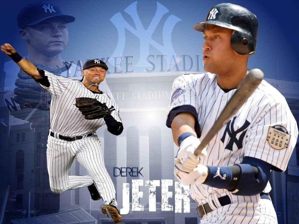 Derek Jeter Ny Yankees Derek Jeter 206081 Hd Wallpaper Backgrounds Download