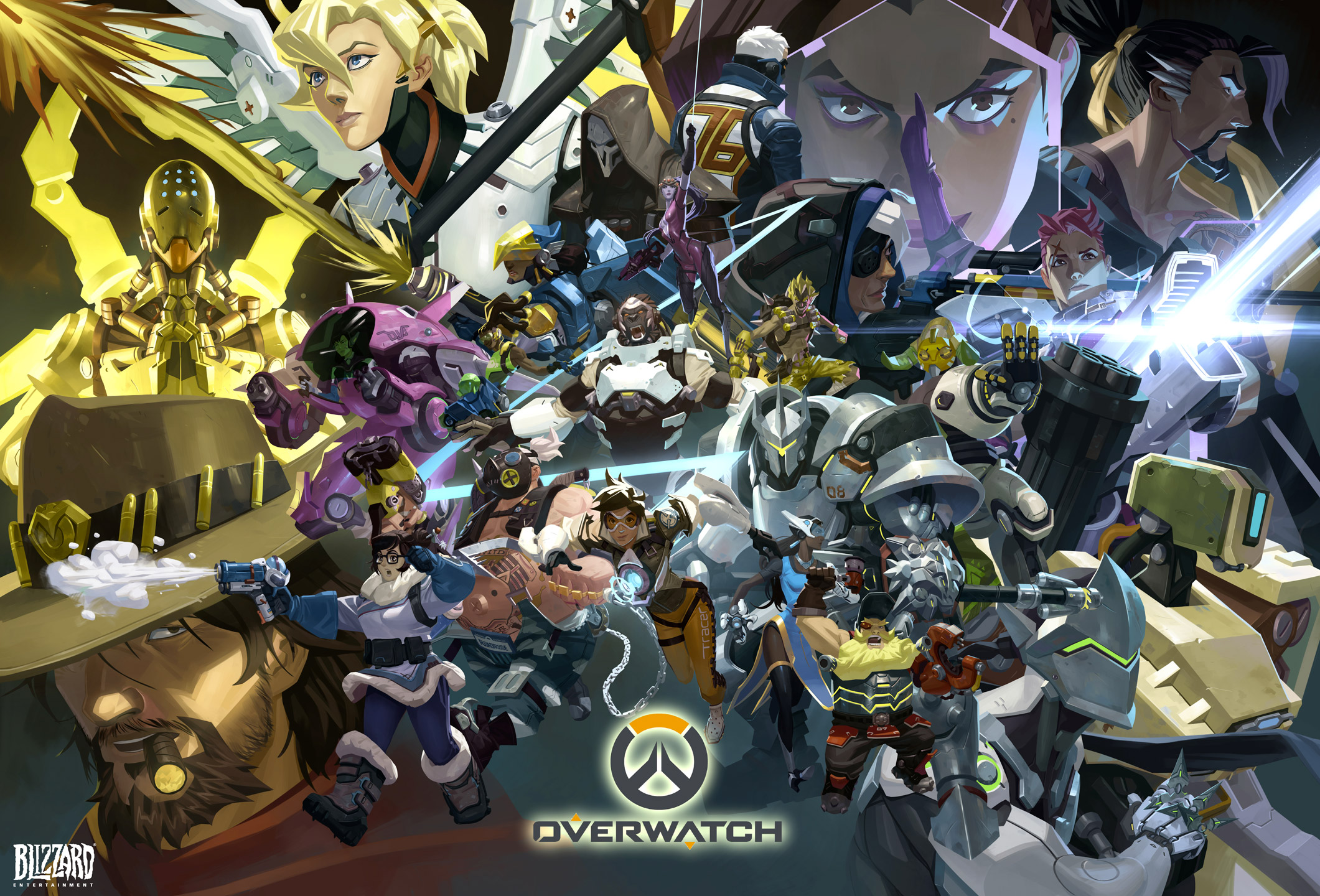 Hd Wallpaper Overwatch All Characters With Doomfist