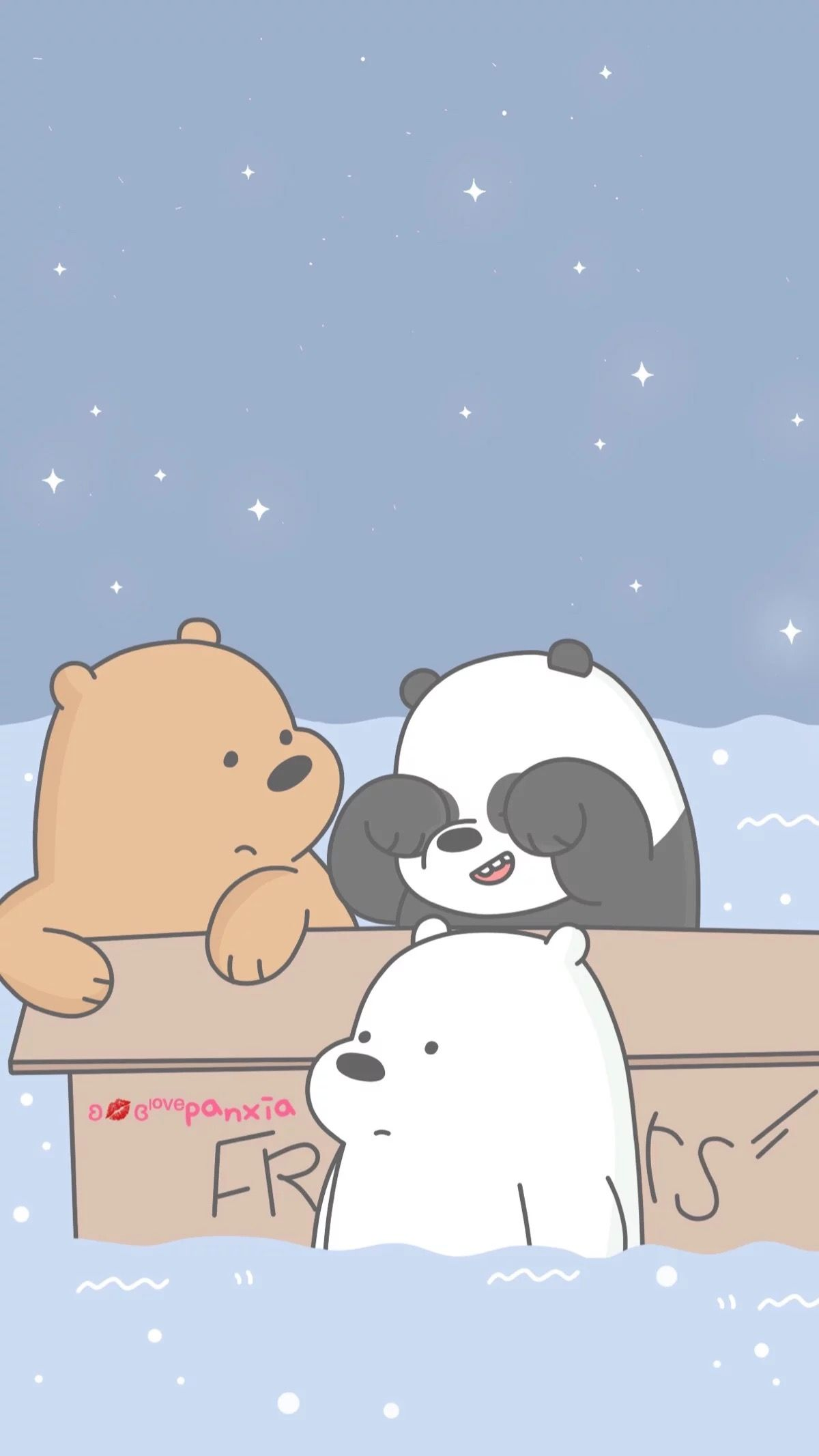 We Bear, Ice Bear We Bare Bears, Cute Wallpapers, We - We Bare Bears Phone , HD Wallpaper & Backgrounds
