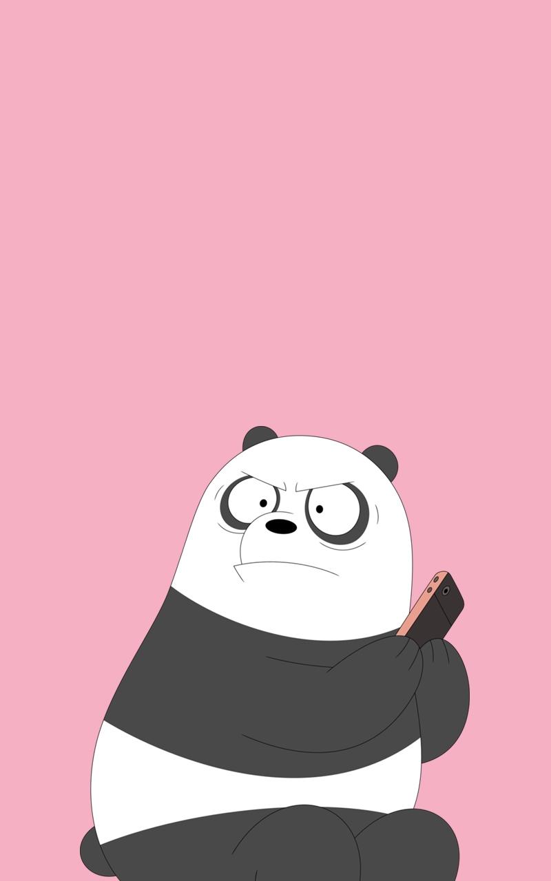 We Bare Bears Wallpaper Iphone - Panda Wallpaper We Bare Bears