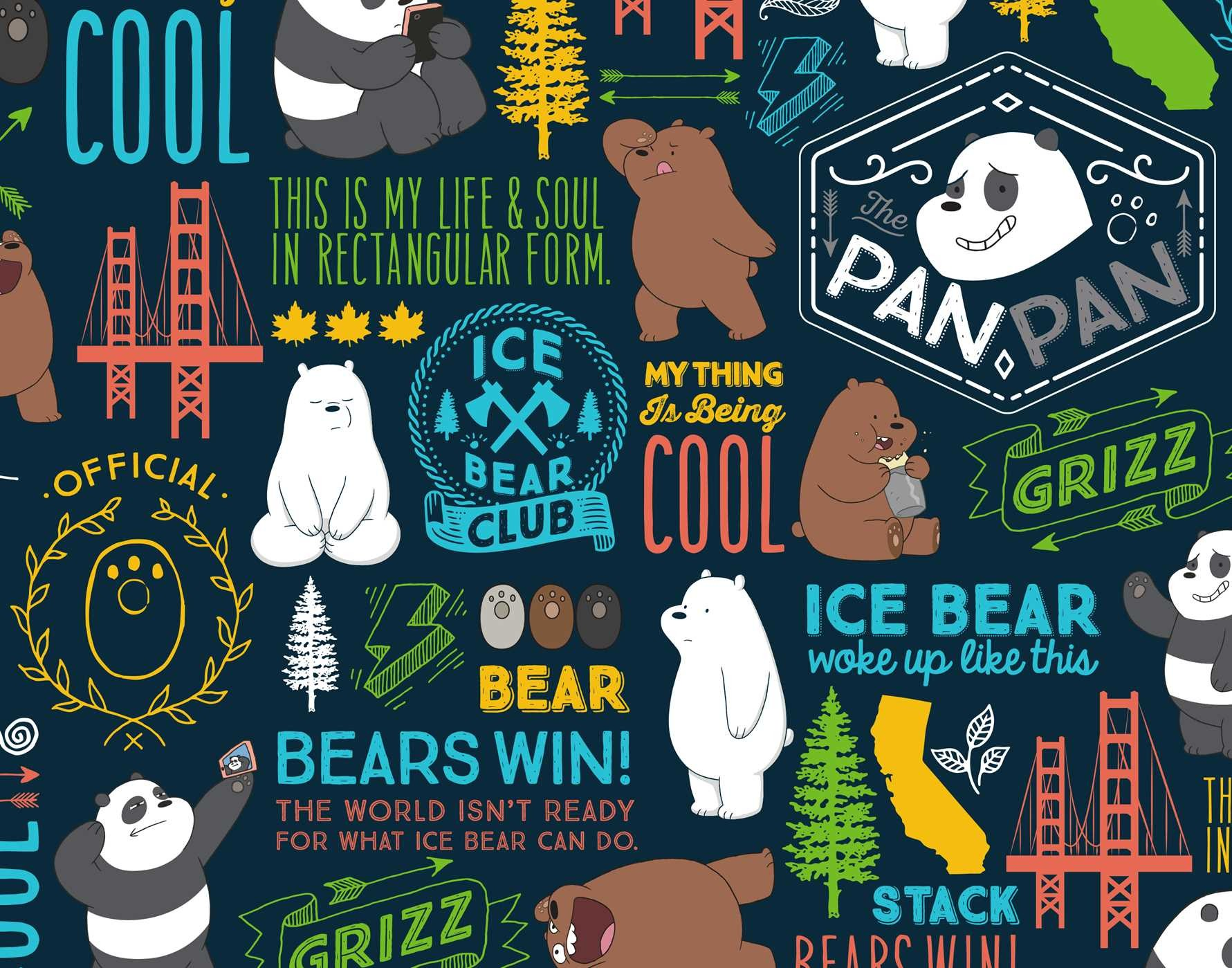 We Bare Bears Hardcover Ruled Journal We Bare Bears Wallpaper Hd Desktop 208293 Hd Wallpaper Backgrounds Download