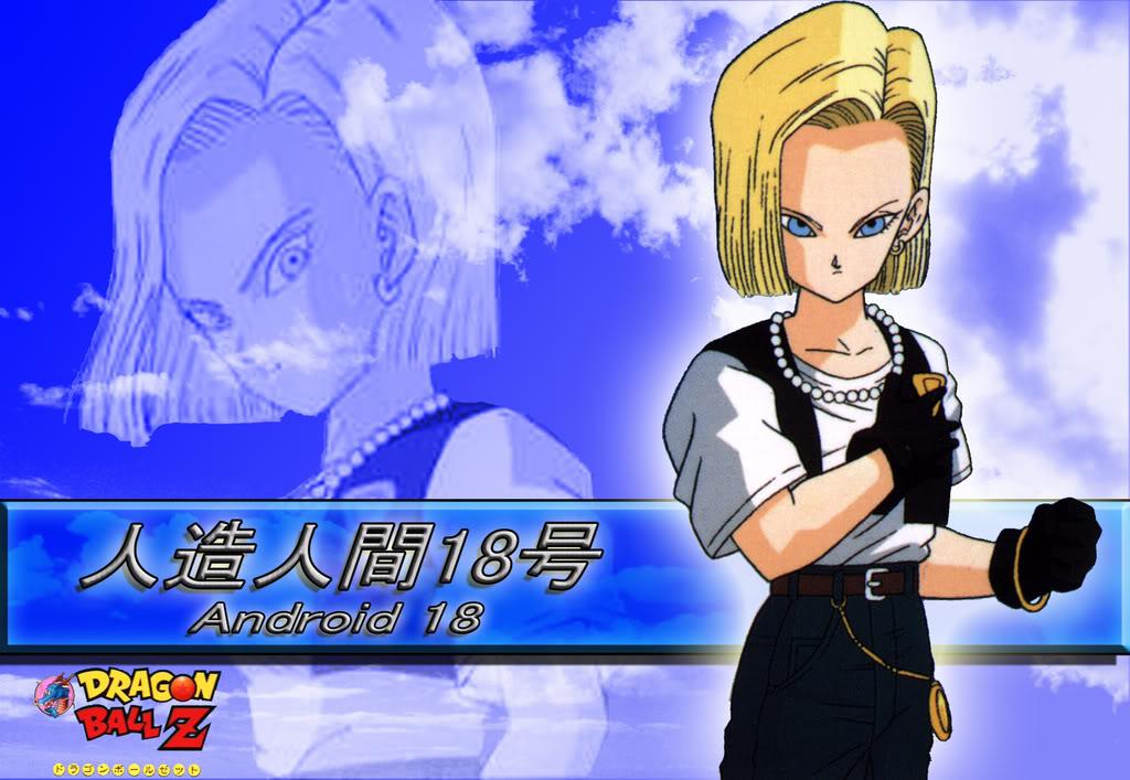 Anime Dragon Ball Dragon Ball Z Android 18 Wallpaper Dragon Ball Z Androide 18 208489 Hd Wallpaper Backgrounds Download
