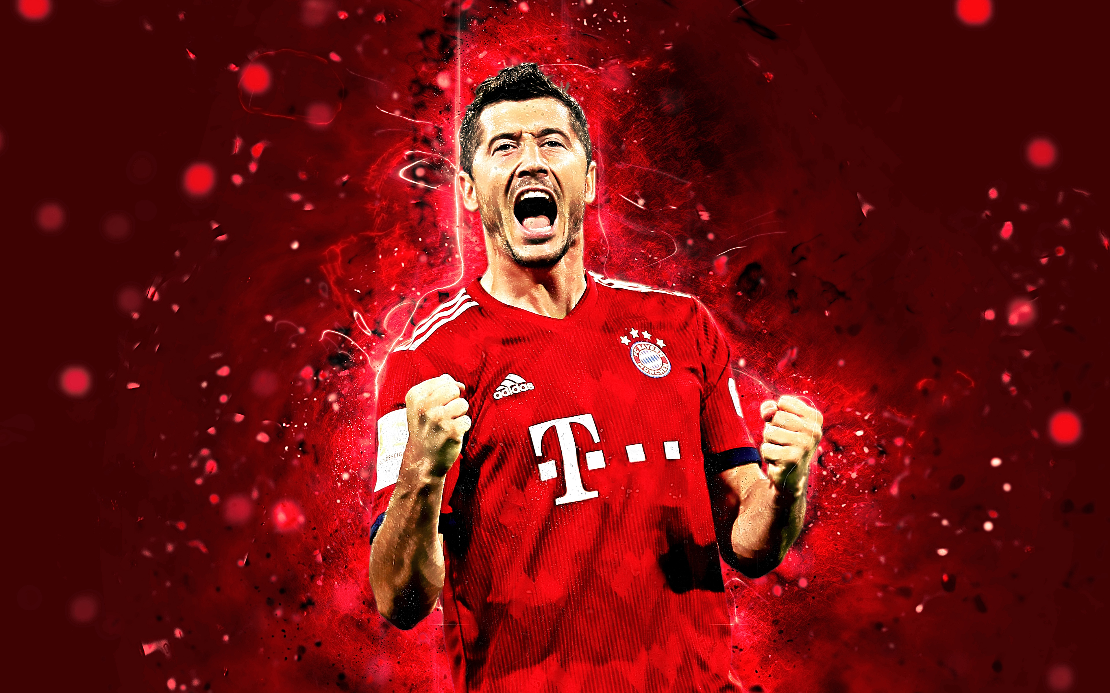 Robert Lewandowski Bayern Robert Lewandowski 4k 209354 Hd Wallpaper Backgrounds Download