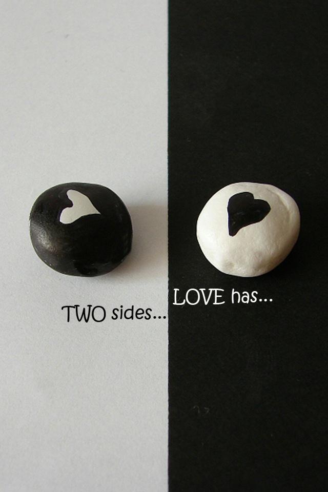 Black White Love Iphone 4 Wallpaper - Love Black Wallpaper Iphone , HD Wallpaper & Backgrounds