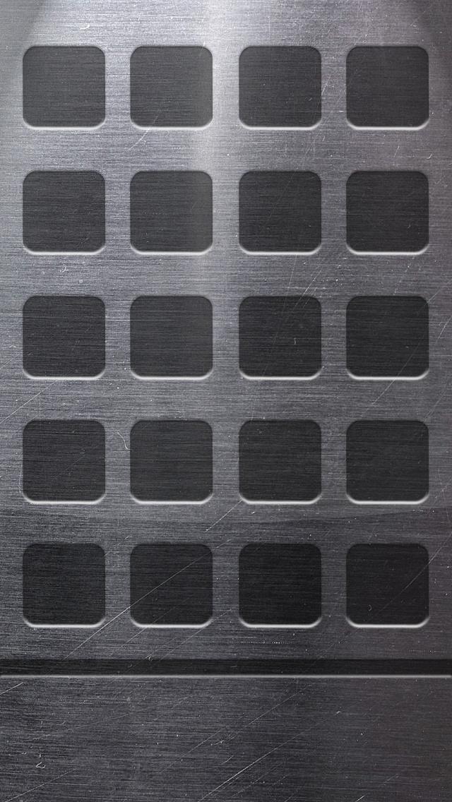 Metal Shelf Iphone 5 Icon Wallpaper Iphone 5 Wallpaper