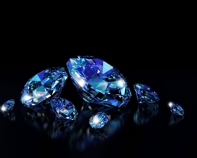 Dark Blue Diamond Background 2002984 Hd Wallpaper