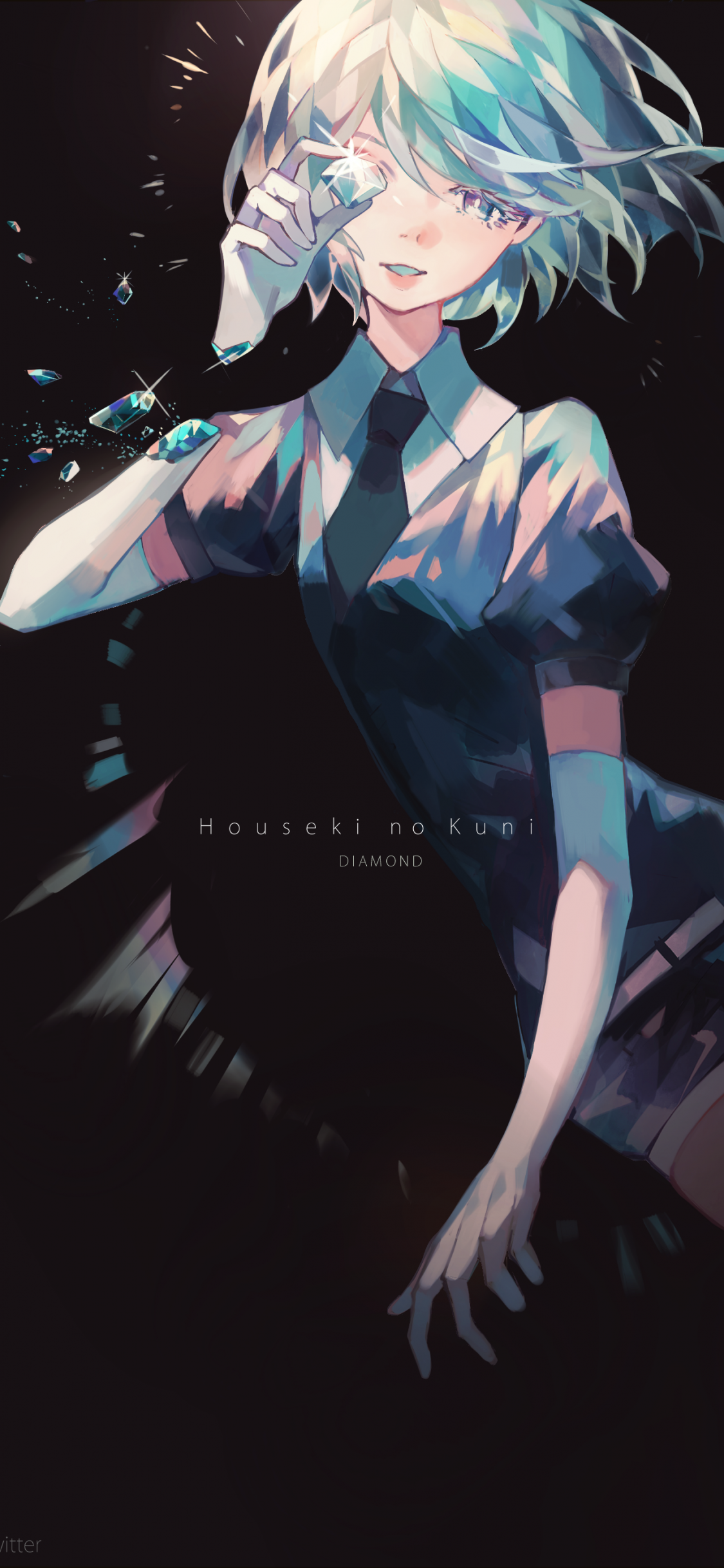 Houseki No Kuni Diamond Shattered Houseki No Kuni Diamond 2003113 Hd Wallpaper Backgrounds Download