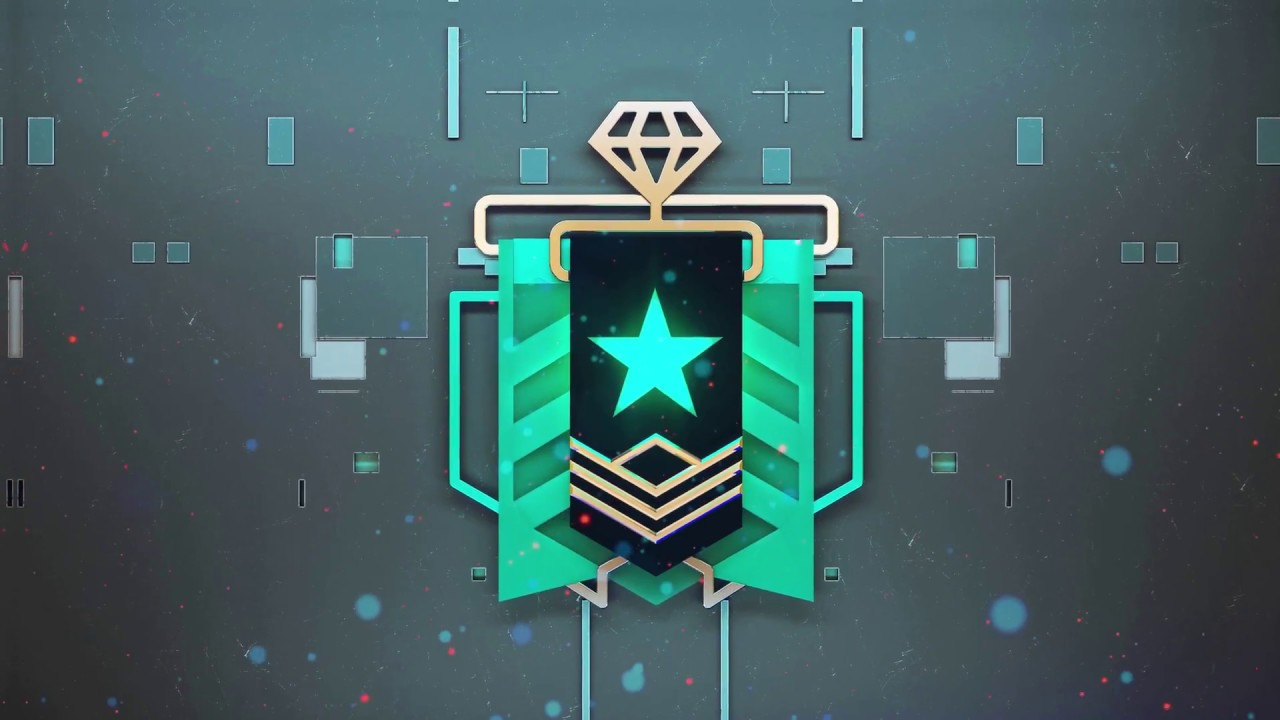 Rank Diamond Live Wallpaper Rainbow Six Siege Diamond Rank Up