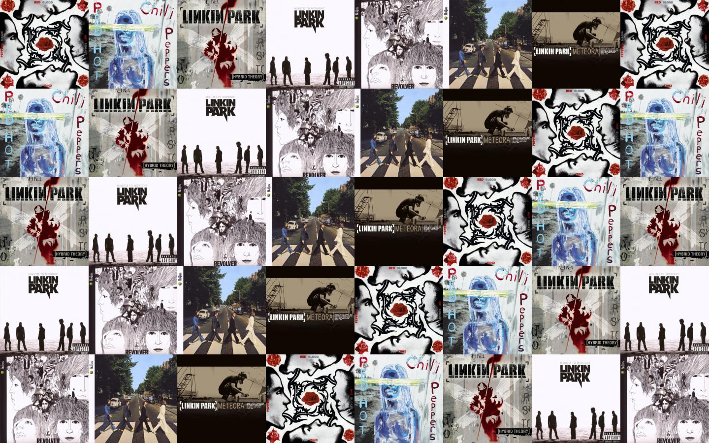 Search Wallpapers Linkin Park And Red Hot Chili Peppers