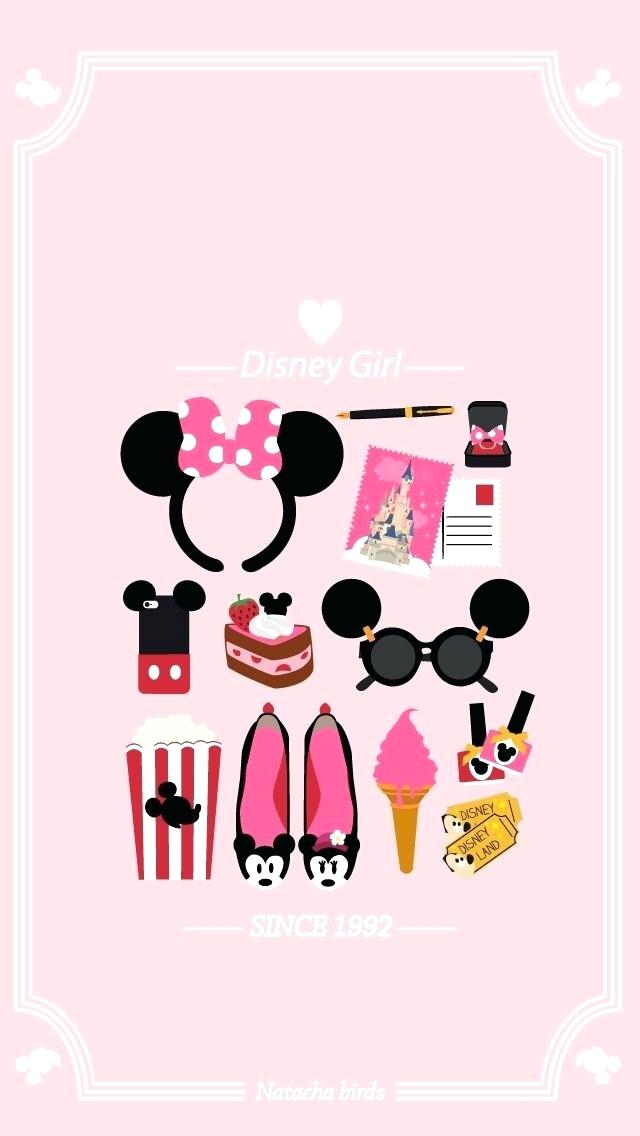 Disney Minnie Mouse Wallpaper Wallpaper Design Wall Aesthetic Disney Lockscreen 2007206 Hd Wallpaper Backgrounds Download