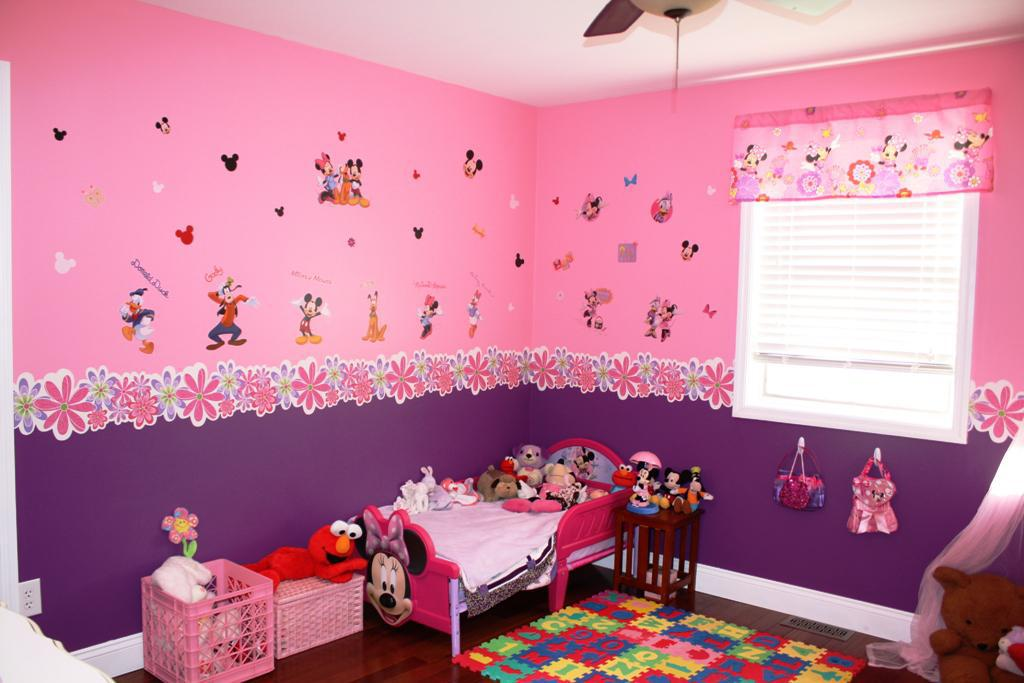 Minnie Mouse Wallpaper For Bedroom Bedroom Minnie Mouse Room 2007531 Hd Wallpaper Backgrounds Download