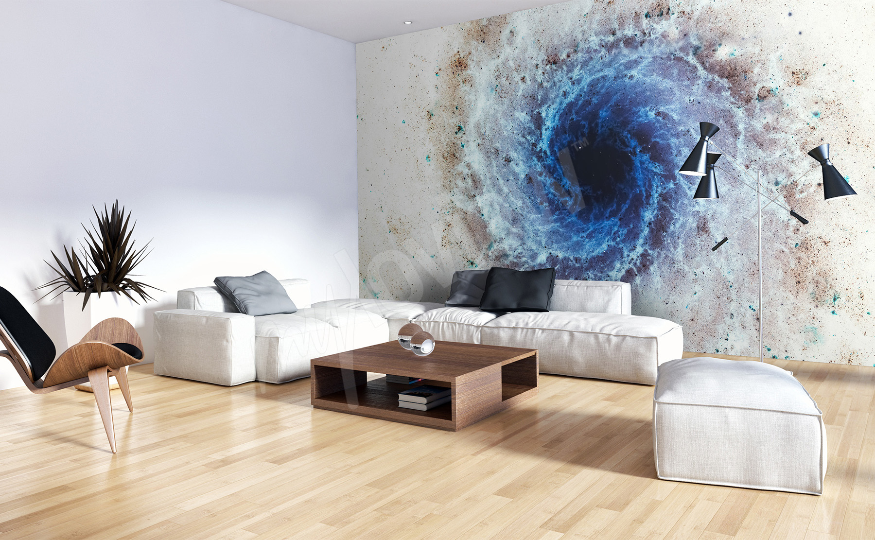 Go To The Product - Realistic Space Wallpapers For A Room , HD Wallpaper & Backgrounds