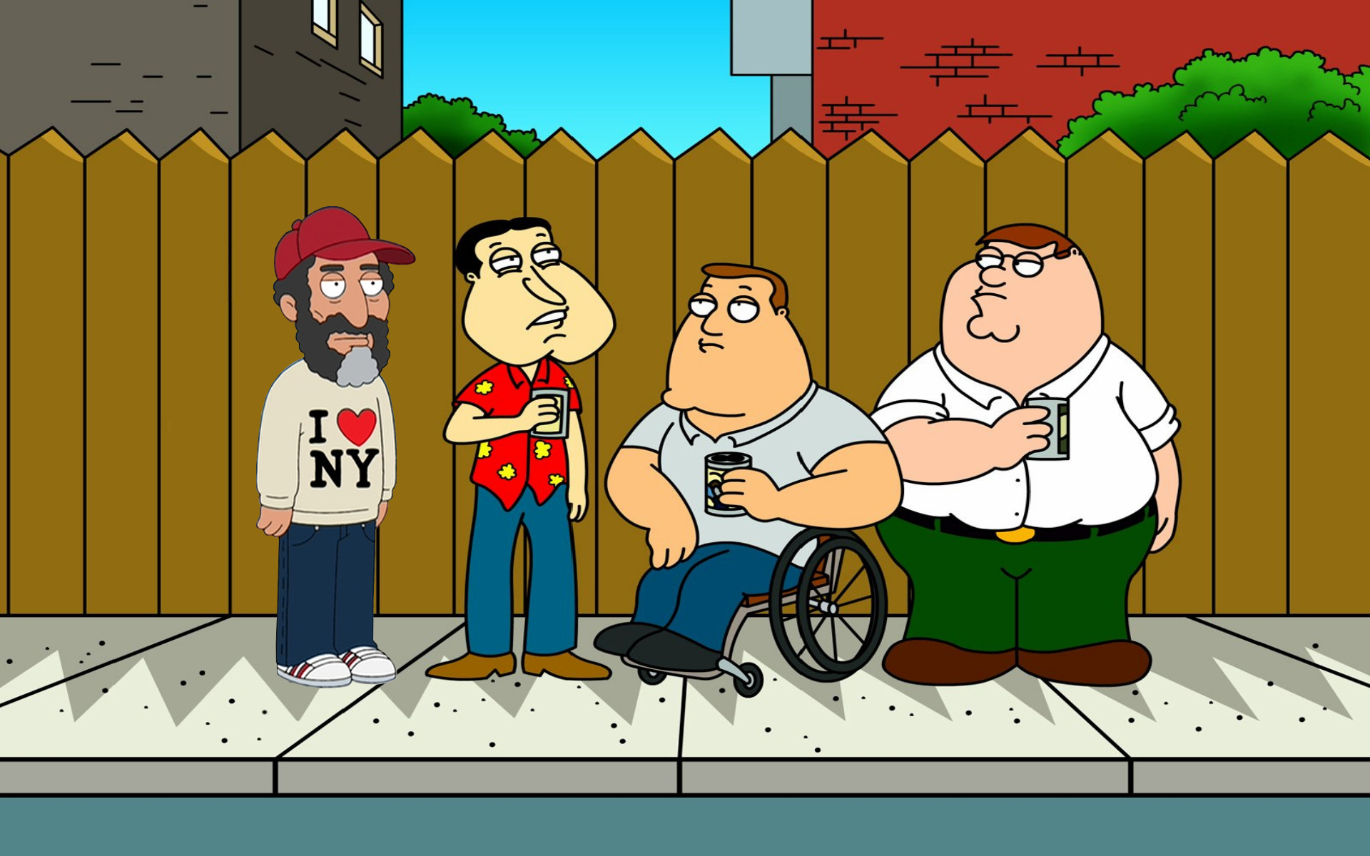 Family Guy Wallpaper Guy King Of The Hill 2007859 Hd