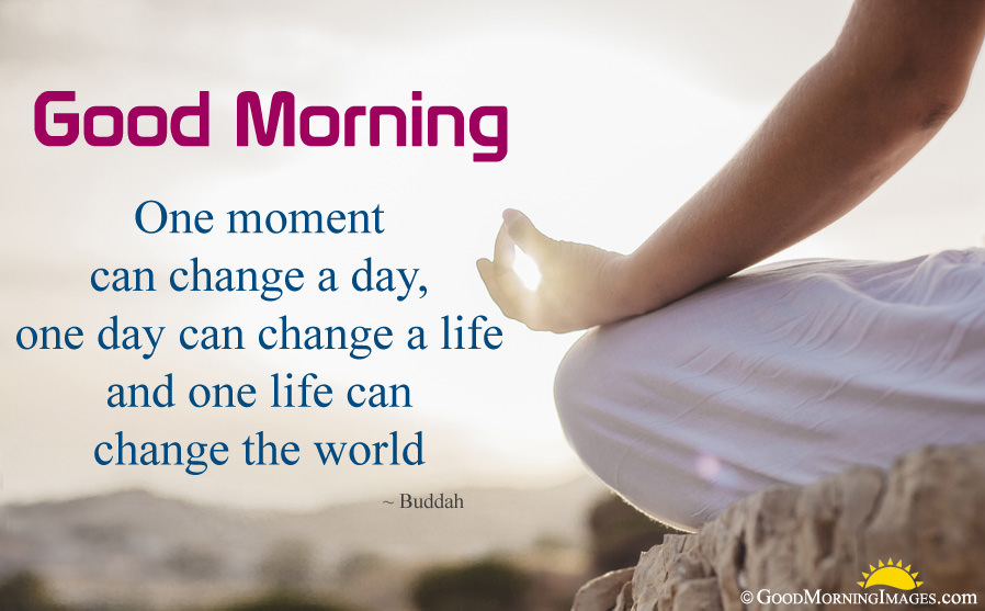 Good Morning Positive Quote On Life With Hd Image - Good Morning Images With Inspirational Quotes , HD Wallpaper & Backgrounds