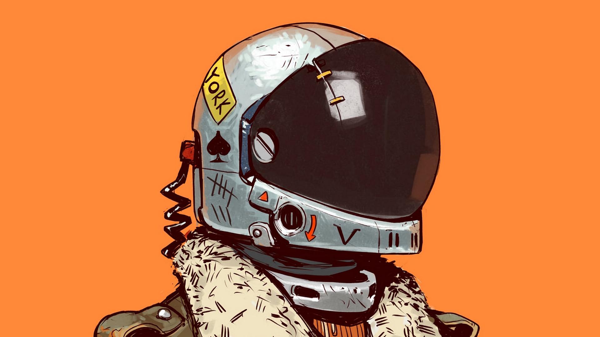 Wallpaper Soldier, Helmet, Art, Digital Art, Sci-fi - Sci Fi Wallpaper Iphone , HD Wallpaper & Backgrounds