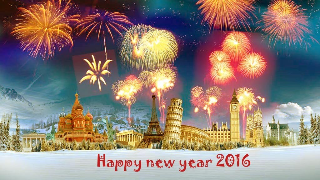 Happy New Year 2016 Animated Hd Wallpaper - Happy New Year 2019 Beautiful , HD Wallpaper & Backgrounds