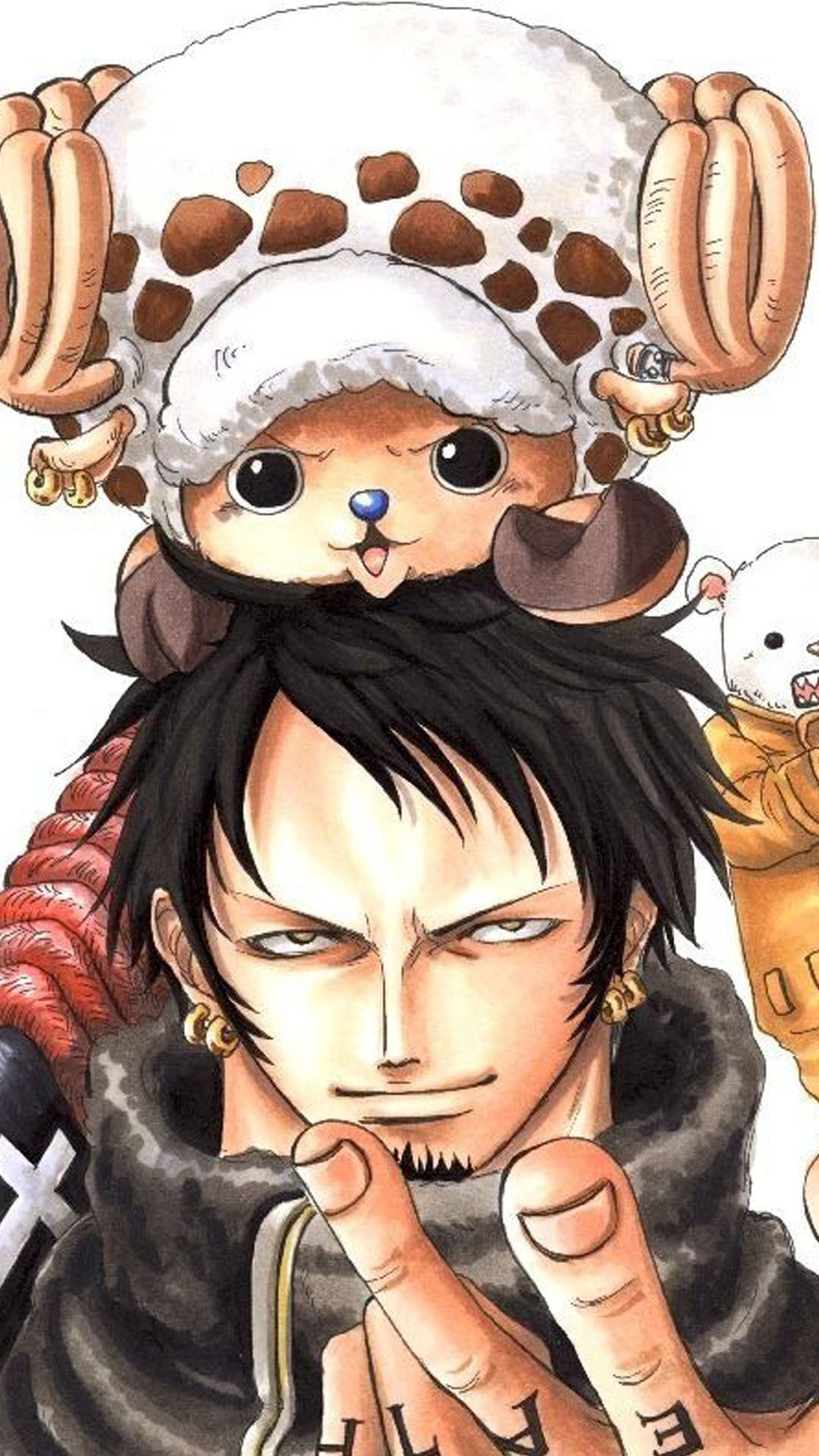 Law Wallpaper One Piece Chopper And Law 2023330 Hd Wallpaper Backgrounds Download