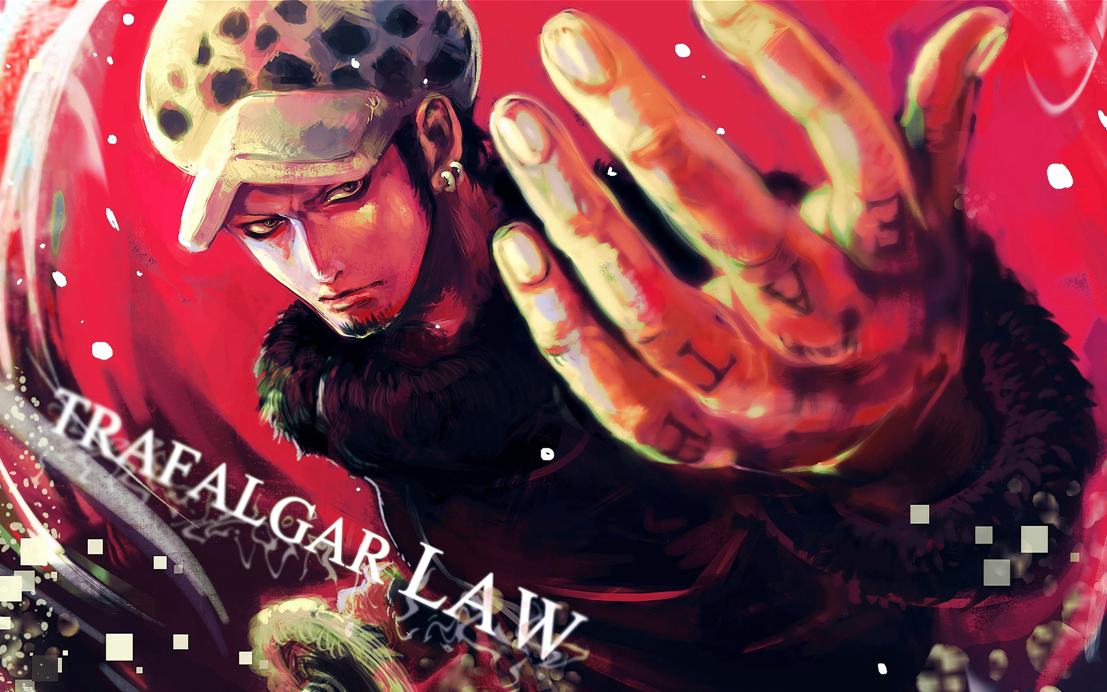Trafalgar Law 4k Fan Art Manga Trafalgar D Water Law