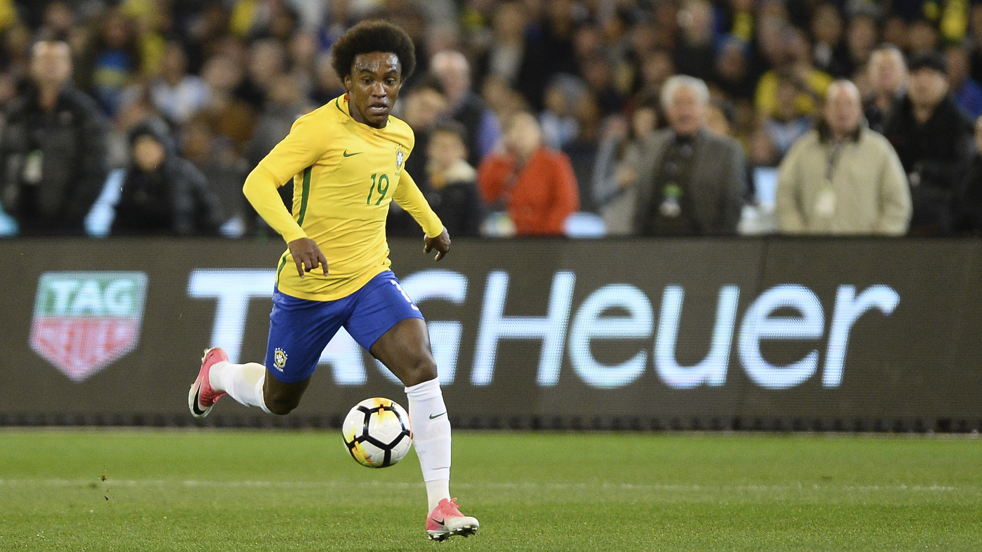 Throughout Tite's 12 Months In Charge Of Brazil, Willian - Fifa World Cup 2018 Germany Vs Brazil , HD Wallpaper & Backgrounds