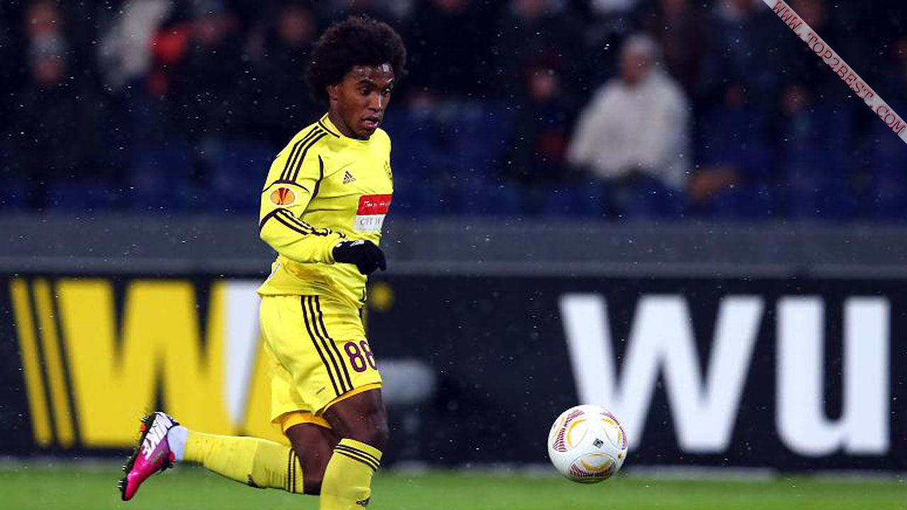 Willian Borges Da Silva - Willian Borges Da Silva Anzhi , HD Wallpaper & Backgrounds