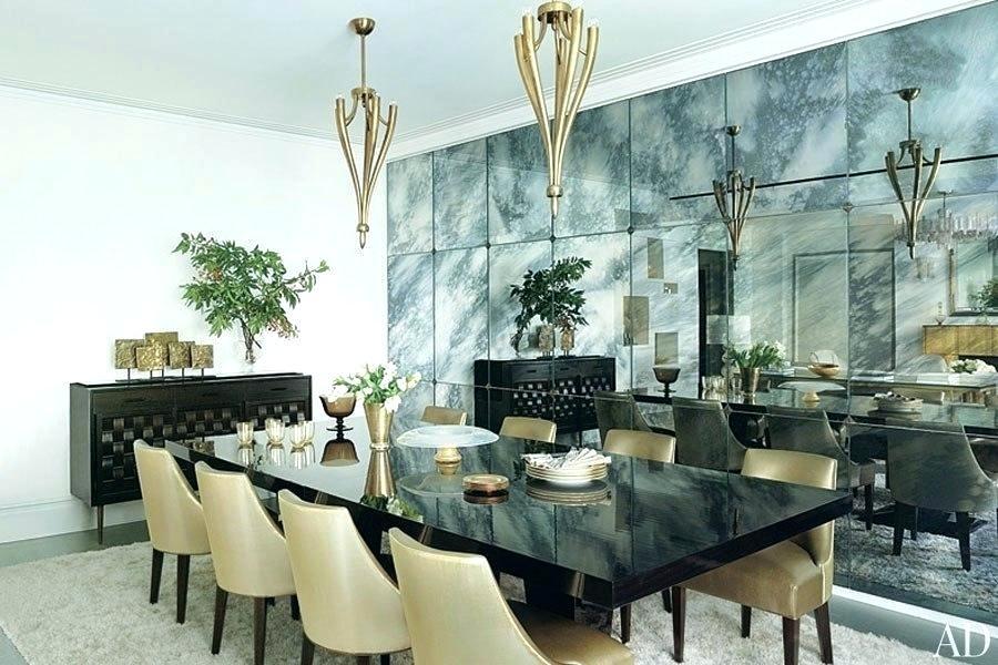 Antique Mirror Wall Tiles Antiqued Designs Bathroom - Mirror Wall Tiles Dining Room , HD Wallpaper & Backgrounds