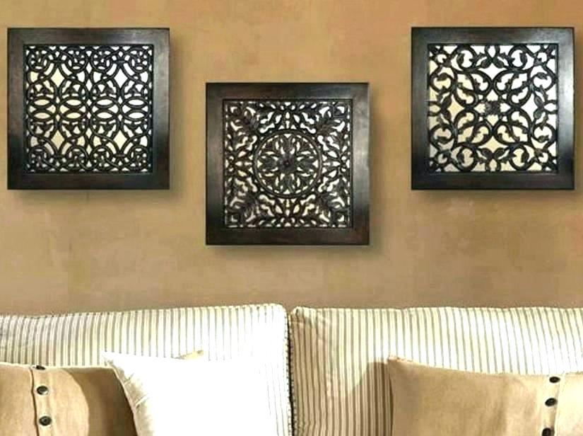 Wall Decor Mirrors Mirror Sets 3 Piece Set Progressive - Buy Wood Wall Art , HD Wallpaper & Backgrounds