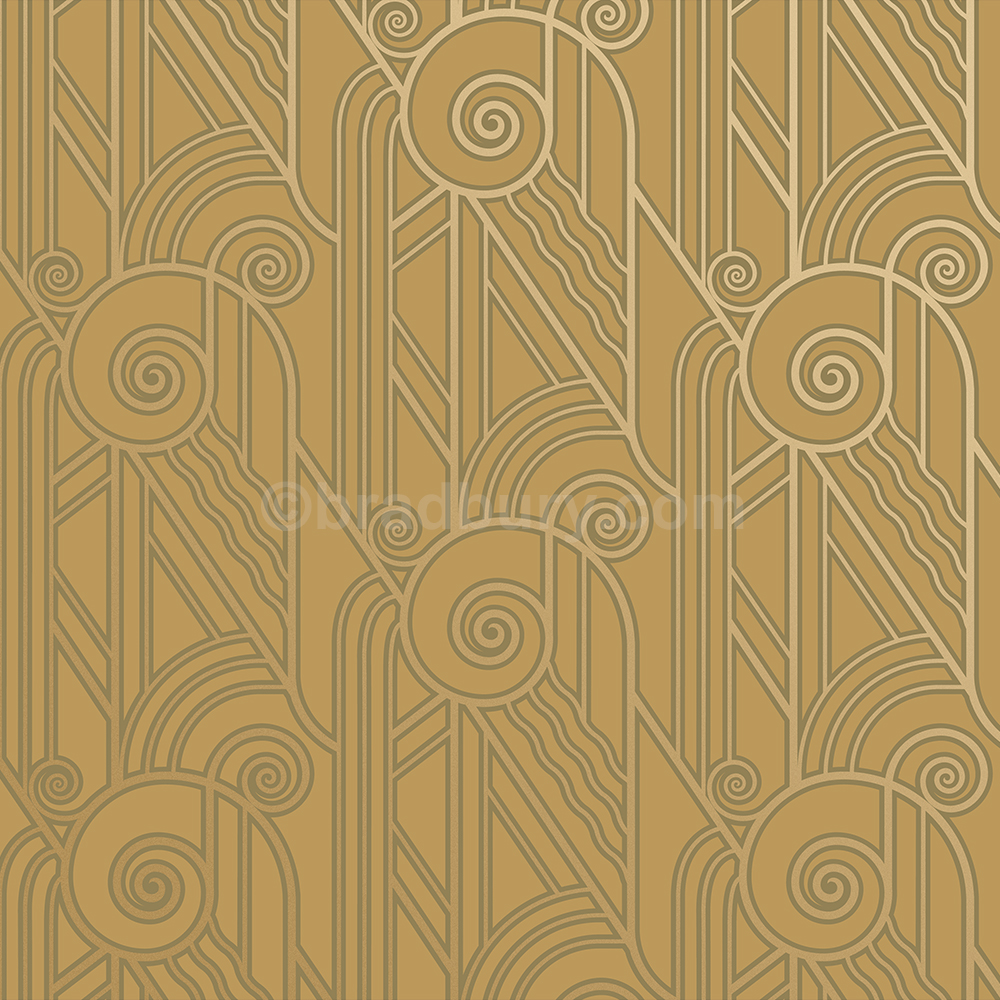 Volute , Old Gold , Art Deco Wall Paper (2034495) , HD