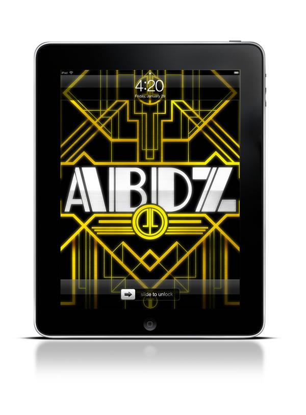 Abduzeedo's Ipad Wallpaper Of The Week - Art Deco Great Gatsby , HD Wallpaper & Backgrounds