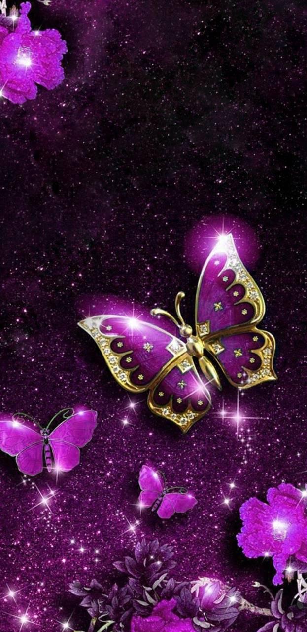 Pin By Mariah Joe On Butterflies - Blue Butterfly Wallpaper Hd Download , HD Wallpaper & Backgrounds