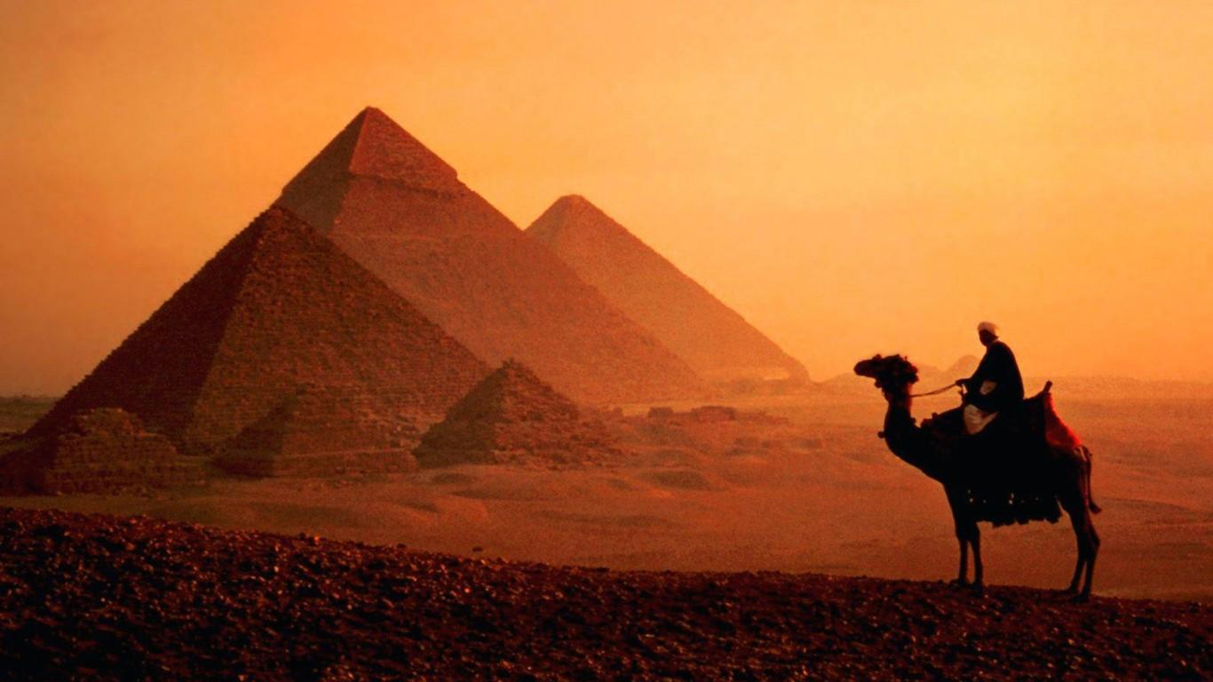 Egyptian Pyramid Wallpapers Pyramids Of Giza 2036730