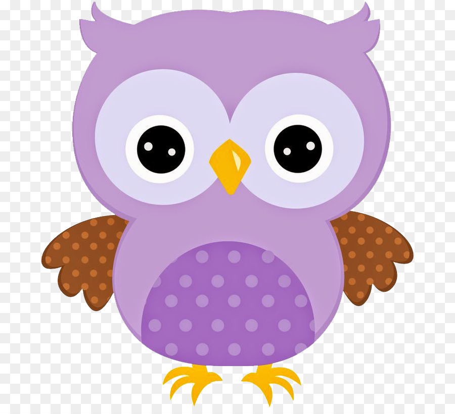 Drawing Cartoon Owl Pink Png Cute Owl Clipart 2040594 Hd